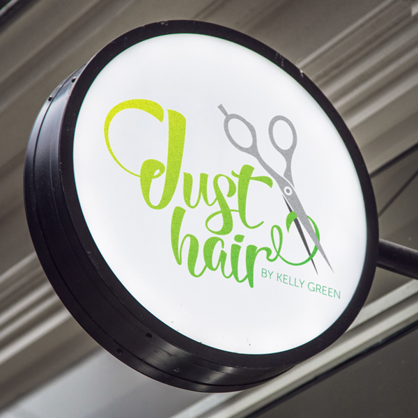 Just Hair Signage